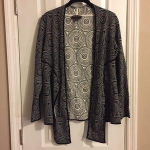 Dana Buchman tie front cardigan size small